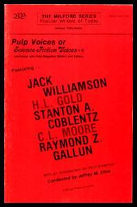 image of PULP VOICES OR SCIENCE FICTION VOICES 6 - Interviews with Pulp Magazine Writers and Editors