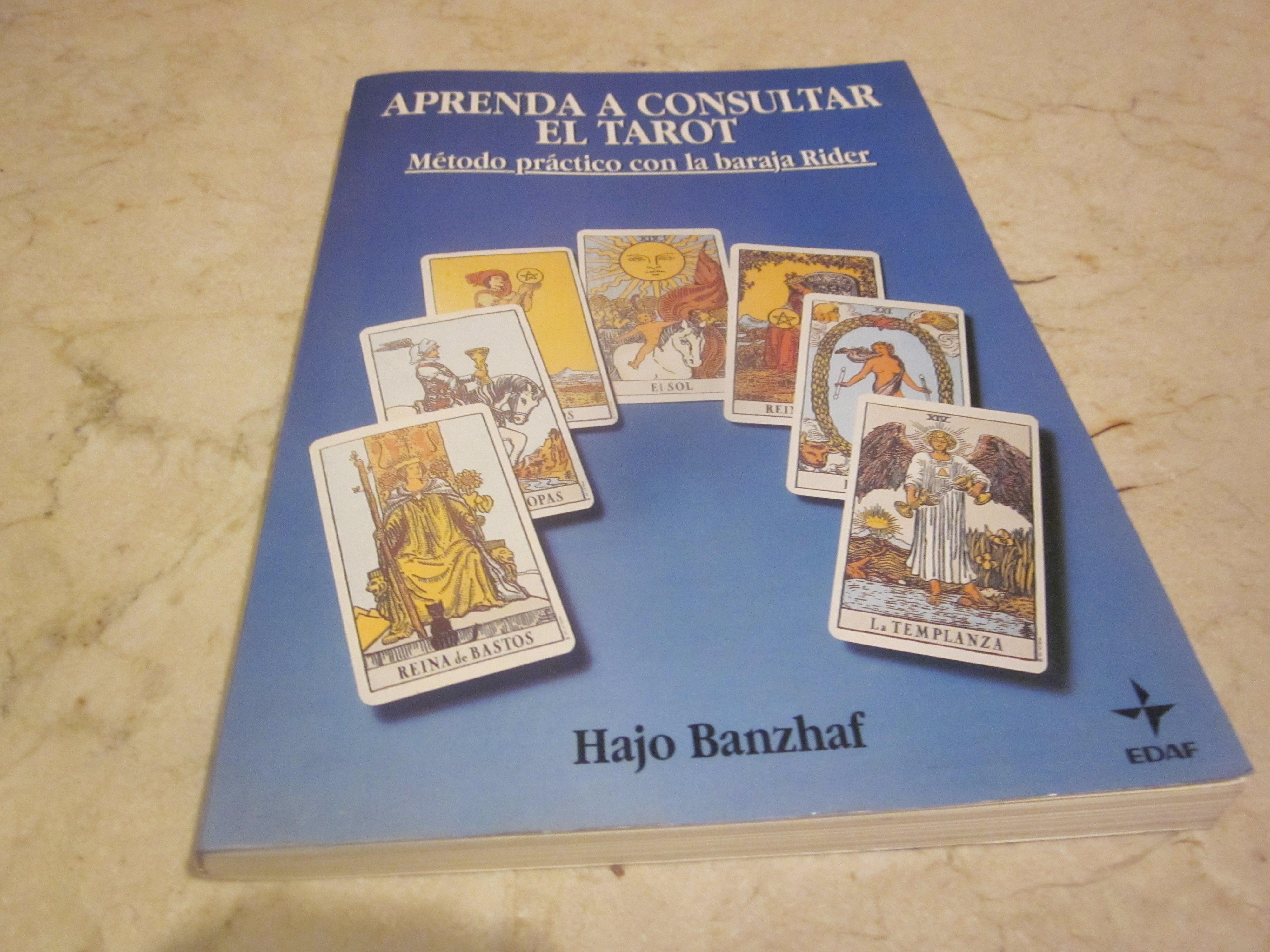 aprenda a consultar el tarot by hajo banzhaf paperback 1992 from marcos ottone and. Black Bedroom Furniture Sets. Home Design Ideas