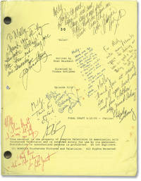 30 (Original screenplay for the 2000 television movie, signed by cast and crew)