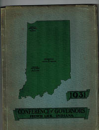 Souvenir of Conference of Governors of the United States held at French Lick, Indiana, June First, Second, Third, 1931