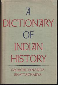 A Dictionary of Indian History