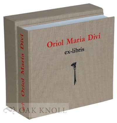 Barcelona, Spain: Granja Grafica, 2011. cloth, slipcase in cardboard clamshell box. Diví, Oriol Mar...