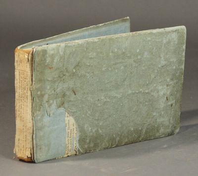 Newburyport: E. Little & Co, 1816. Oblong 8vo, pp. , 4-331, ; contemporary paper-covered boards; spi...