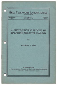 A photoelectric process of halftone negative making applicable over telephone lines