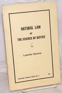 image of Natural law, or the science of justice