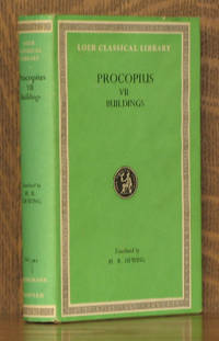 PROCOPIUS VII - BUILDINGS and GENERAL INDEX - Loeb Classical Library LCL 343