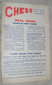 Chess: Mid-August 1964, Volume 29 No 465-66