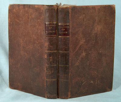 1809. PORTER, Miss . THADDEUS OF WARSAW, 2 VOLUMES. Boston: Lemuel Blake, 1809. First American editi...