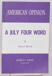 image of A July Four word