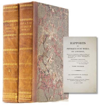 Paris, 1805. Seconde édition revue, corrigée et augmentée par l'auteur. With half titles. xliii, ...