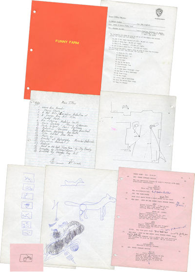 Los Angeles: Pan Arts / American Broadcasting Company , 1987. Shooting script for the 1988 film come...