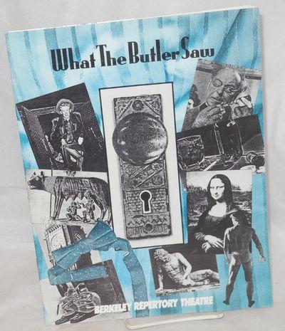 Berkeley: Berkeley Repertory Theatre, 1988. Magazine. 18p., 8.5x11 inches, articles, essays, cast bi...
