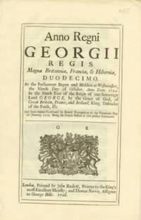 image of Anno Duodecimo Georgii Regis. An Act for repealing the Duty laid upon Snuff, by an Act made in the Eighth Year of Her late Majesty's Reign, and for ascertaining the Rates according to which the remaining Duties are to be paid.