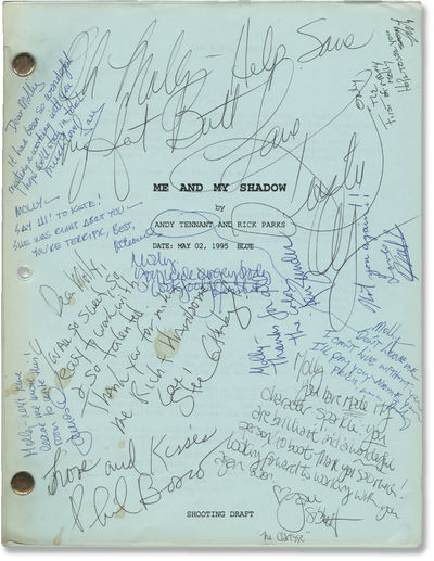 Burbank, CA: Warner Brothers, 1995. Shooting Script for the 1995 film, here under the working title ...