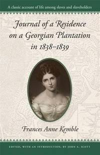 image of Journal of a Residence on a Georgian Plantation in 1838-1839