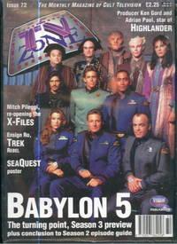 TV Zone Magazine Issue 72 November 1995