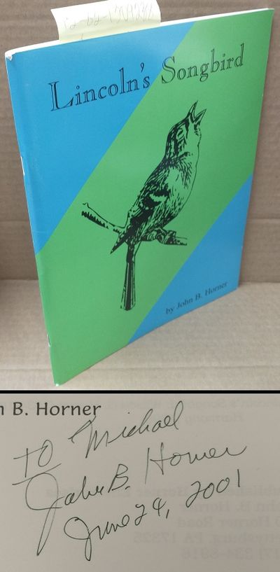 Gettysburg, PA: Horner Enterprises, 1998. Softcover. Booklet; pp 48; VG/paperback; covers show light...