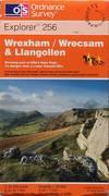 image of Wrexham / Wrecsam_Llangollen: Explorer sheet 256