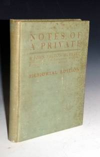 image of Notes of a Private