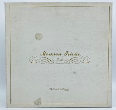Toluca Lake, CA: Jensen-Evans Productions, 1984. White box with the lid printed in gold ink. Box con...