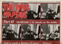 Mussolini Declares War. News Chronicle, June 11, 1940. The War Papers. Issue 67. A reprint of an entire newspaper from the Second World War era by The War Papers - 1977 - from Cosmo Books (SKU: 307595)