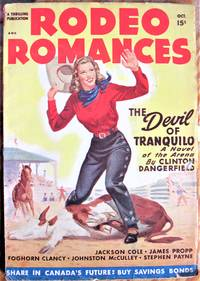 image of Hang and Rattle. Short Story in Rodeo Romances Volume 11 Number 2, October 1948
