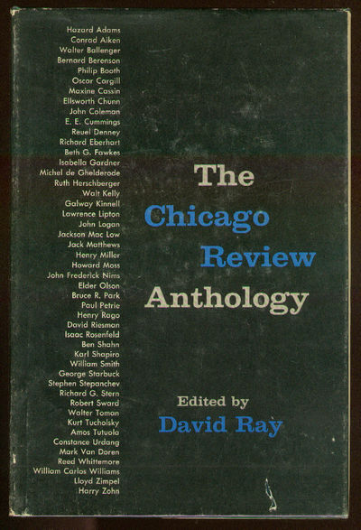 (Chicago): The University of Chicago, 1959. Hardcover. Near Fine/Near Fine. First edition. Stain to ...