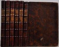 THE BRITISH MUSICAL MISCELLANY, or, the DELIGHTFUL GROVE: Being a Collection of Celebrated English and Scotch Songs, By the Best Masters. Set for the Violin, German Flute, the Common Flute, and Harpsicord. Engraven in a fair Character, and Carefully Corrected. Six volume set.