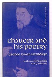 image of CHAUCER AND HIS POETRY: FIFTY-FIFTH ANNIVERSARY EDITION