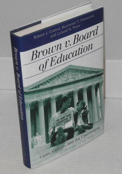 Lawrence: University of Kansas Press, 2003. Hardcover. xi, 292p., first printing, very good in dj. L...