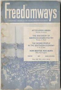 image of Freedomways: A Quarterly Review of the Negro Freedom Movement. Fall, 1963
