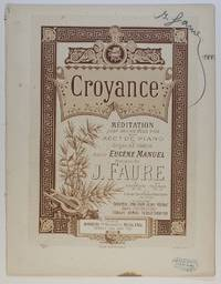 image of 'Croyance, Méditation pour voix et piano', (Jean-Baptiste, 1830-1914, French Baritone and Composer)