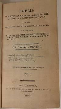 Poems Written and Published During the American Revolutionary