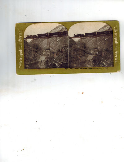 No Place: Metropolitan Series Uncommon Metropolitan Series stereocard, reportedly published by Sears...