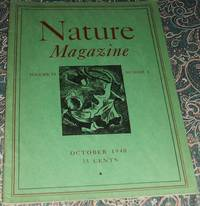image of An Original Vintage Issue of Nature Magazine for October 1940