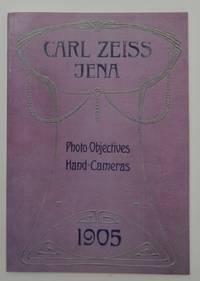Carl Zeiss, Jena Optische Werkstaette Photographic Lenses Hand Cameras 1905