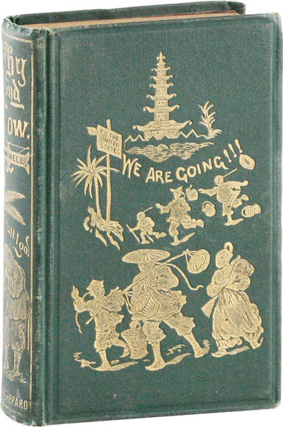 Boston: Lee & Shepard, 1871. First Edition. 12mo (19cm). Publisher's gilt-decorated pictorial cloth ...