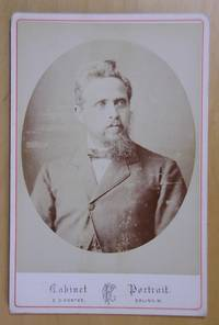 Cabinet Photograph: Portrait of a Man with a Beard.