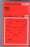 image of Ordnance Survey  One-Inch Map  - Wick - Sheet 16
