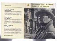 image of Sergeant Cluff Stands Firm ---by Gil North ( Leslie Sands Photo Cover )