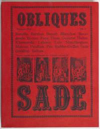 Obliques n° 12-13 : Sade
