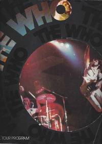 image of VINTAGE 1975 THE WHO OFFICIAL TOUR PROGRAM BOOKLET