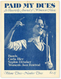 image of Paid My Dues: A Quarterly Journal of Women in Music. Vol III, no. 3 (Jul-Sep 1979)