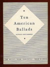 New York: Dryden Press, 1942. Softcover. Fine. First edition. Stapled wrappers. Fine. Signed by the ...