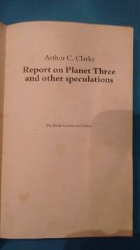image of Report On Planet Three and Other Speculations