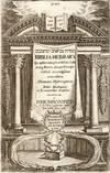 View Image 1 of 3 for Biblia Hebraica Cum optimis impressis & Manuscriptis Inventory #30854