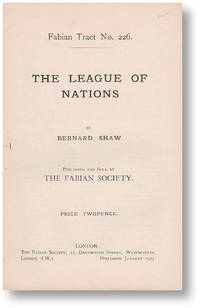 The League of Nations. Fabian Tract no. 226