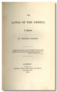 THE LOVES OF THE ANGELS, A POEM