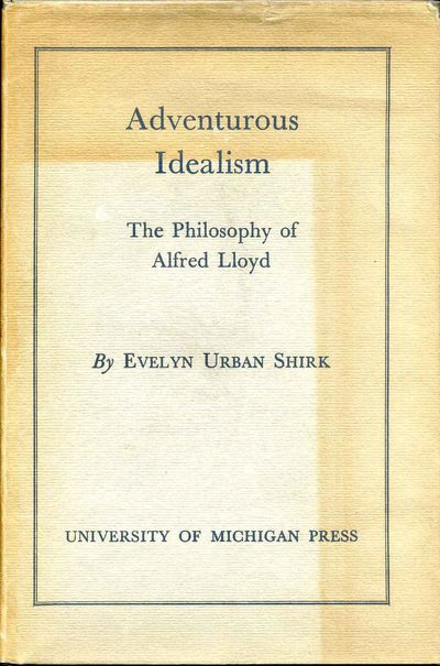 Ann Arbor, MI: University of Michigan Press, 1952. Book. Very good+ condition. Hardcover. First Edit...