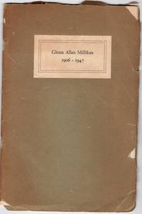 Vanderbilt University Professor Glenn Allen Millikan, Memorial Service Funerial Booklet (1906-1947)